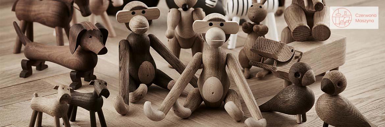 Zabawki z drewna Kay Bojesen