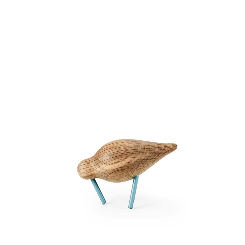 Figurka Normann Copenhagen Shorebird small, niebieski