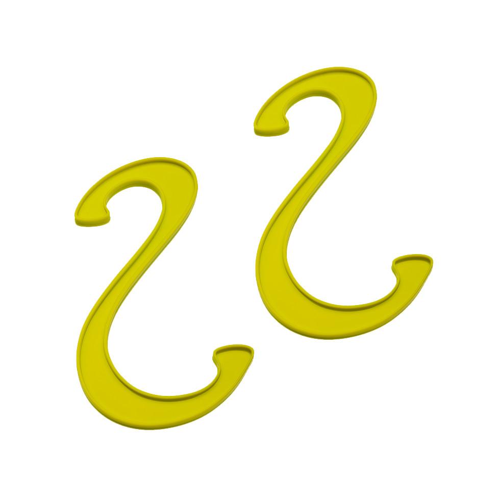 2 Haczyki ³azienkowe Koziol Hook oliwkowe