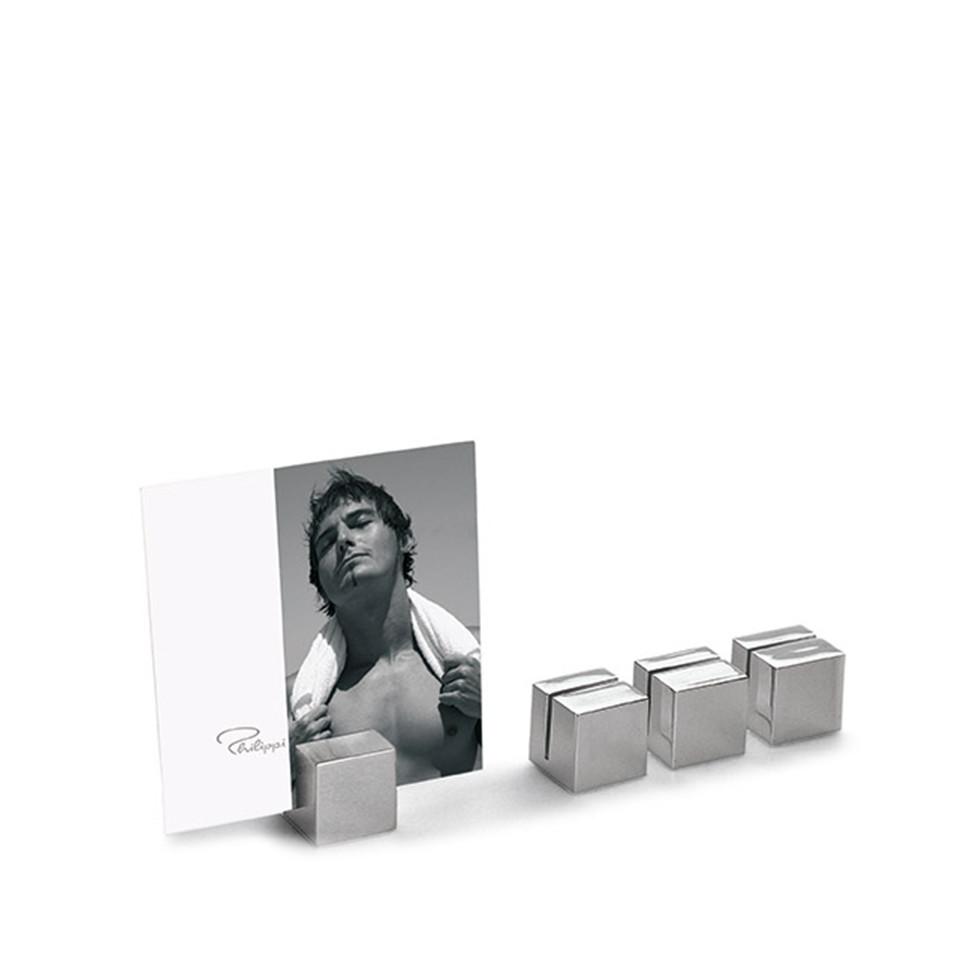 Al Cube - stalowe podstawki na karty Philippi