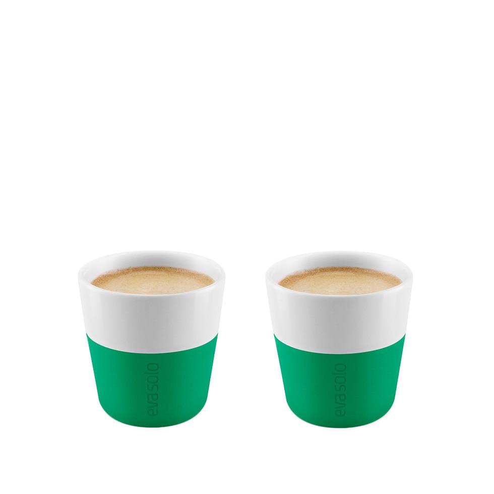 2 Fili¿anki do espresso Eva Solo 80 ml, zielone