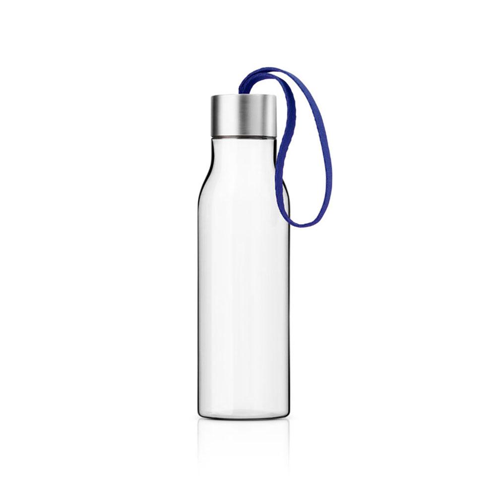 Butelka na wodê Eva Solo 0,5 l, z granatowym uchwytem