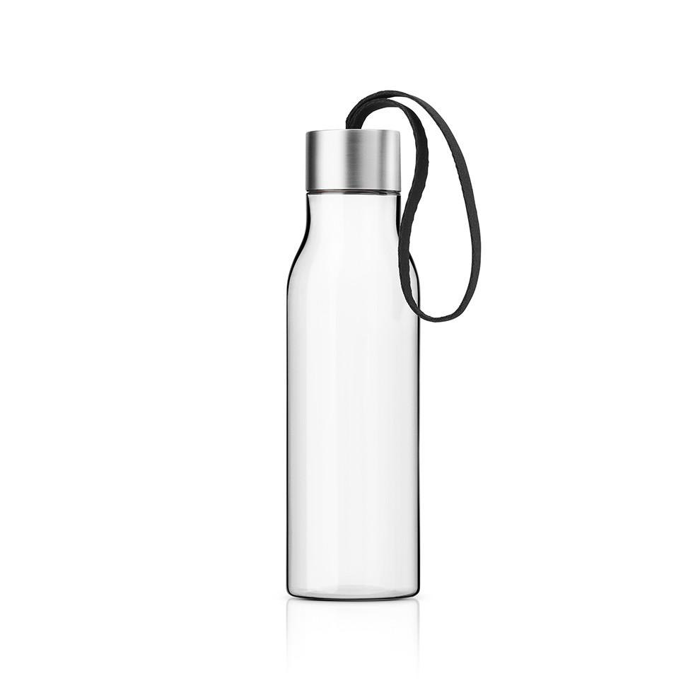 Butelka na wodê Eva Solo 0,5 l, z czarnym uchwytem