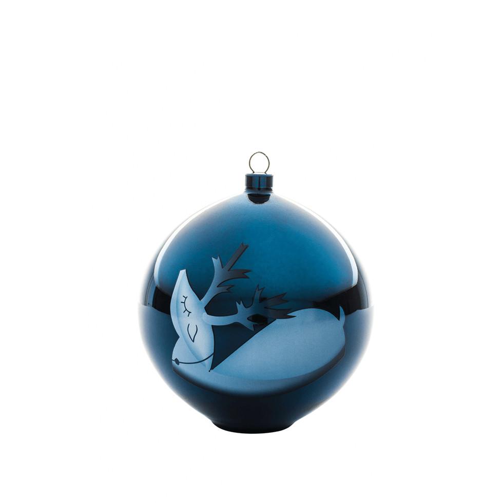 Bombka na choinkê A di Alessi Blue Christmas renifer