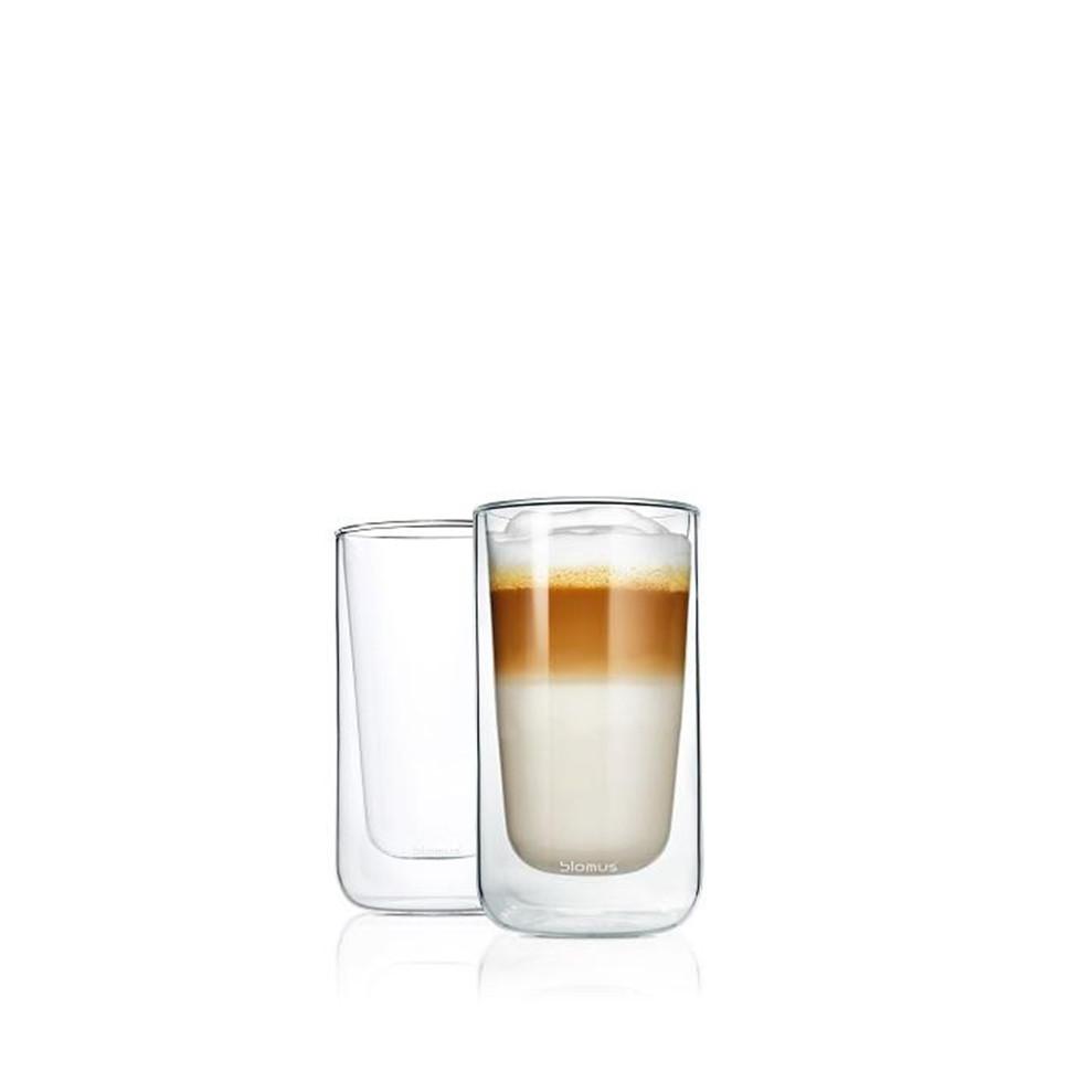 2 szklanki termiczne do latte Blomus Nero