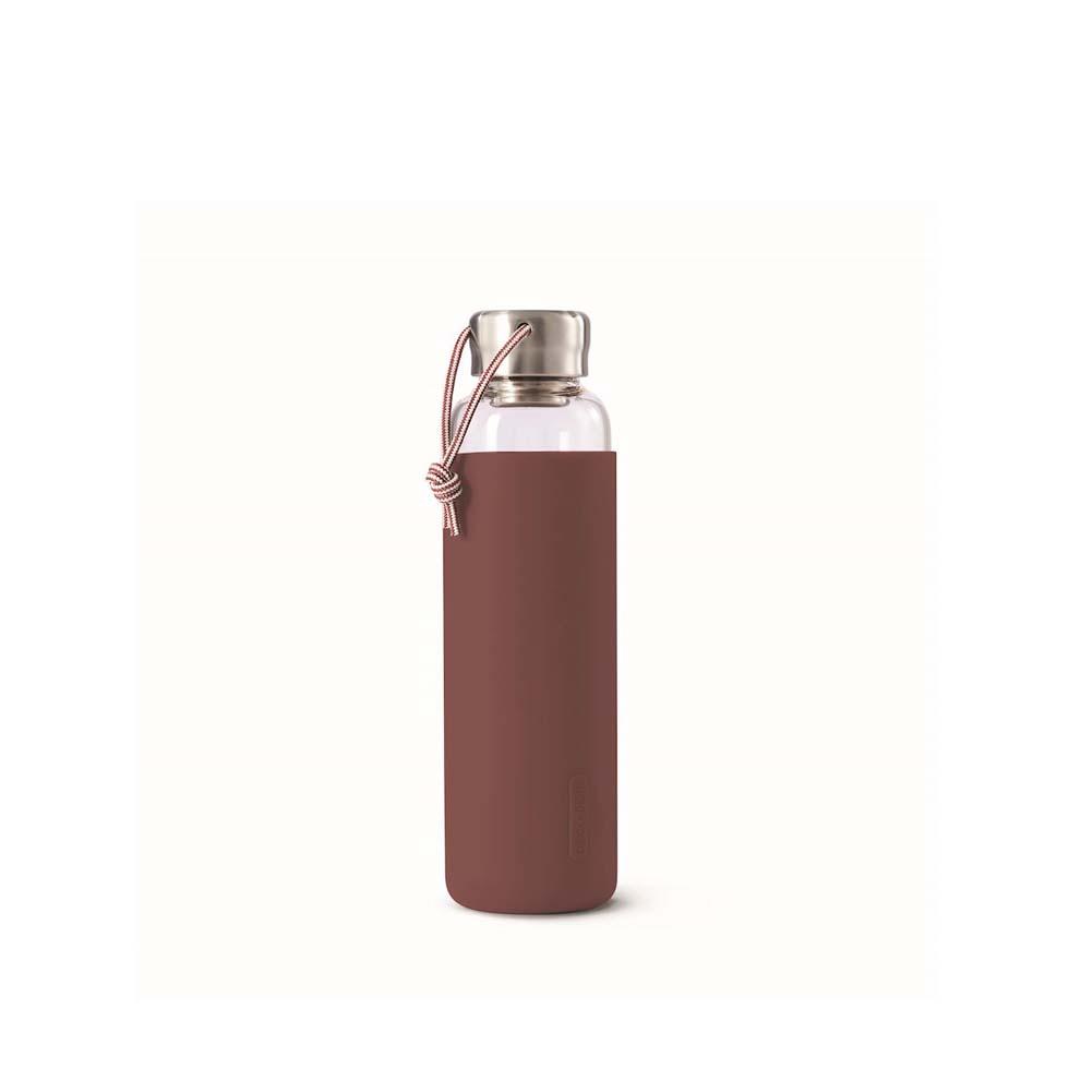 Butelka na wodê Black + Blum, 600 ml, burgundowy