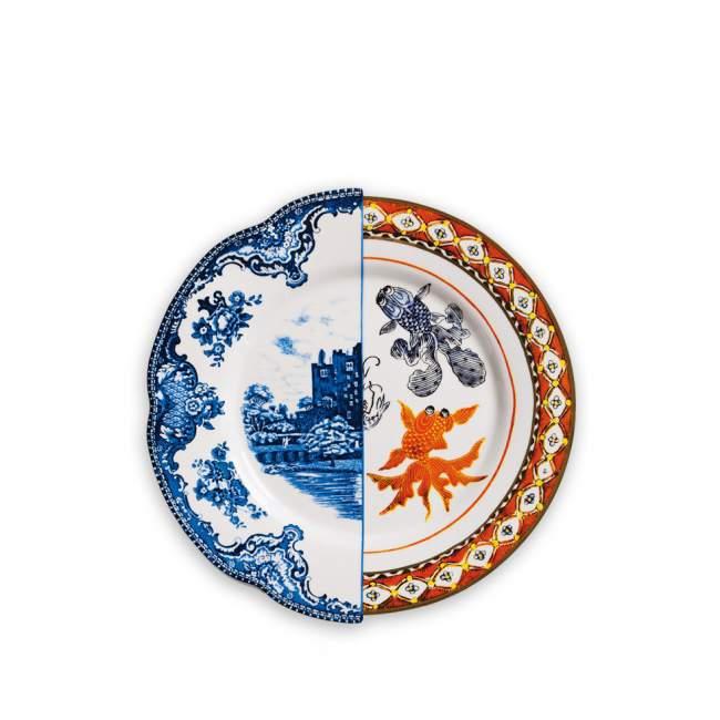 Talerz obiadowy Seletti Hybrid Isaura Ø 27,5 cm