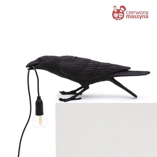 Lampa Seletti Bird Playing outdoor, czarna
