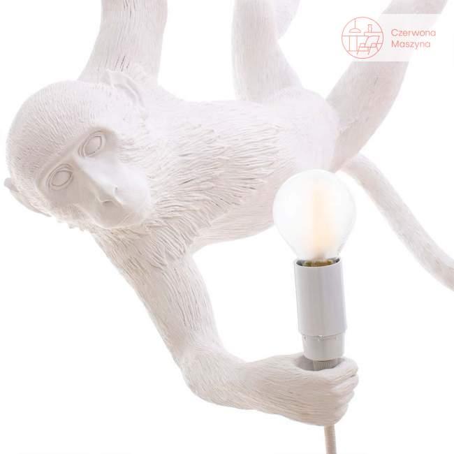 Lampa wisząca Seletti Monkey Swing, biała