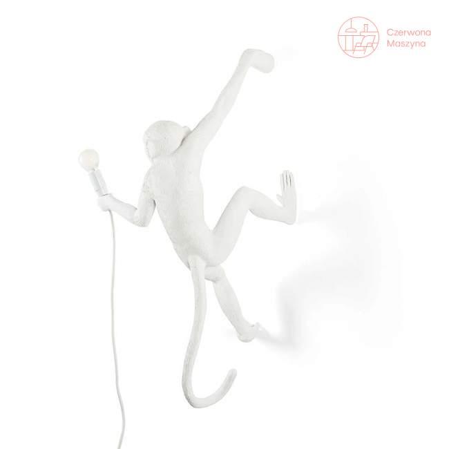 Kinkiet Seletti Monkey Hanging, biały