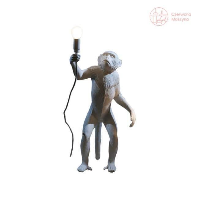 Lampa stołowa Seletti Monkey Standing biała