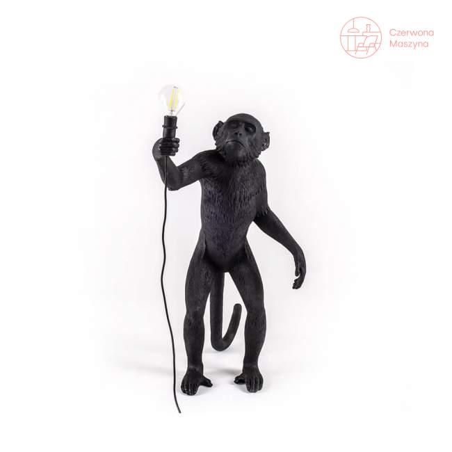 Lampa stołowa Seletti Monkey Standing outdoor, czarna