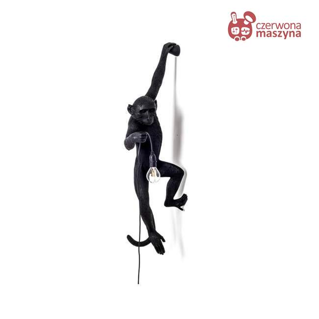 Kinkiet Seletti Monkey Hanging czarny