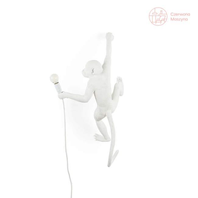 Kinkiet Seletti Monkey Hanging outdoor, biały