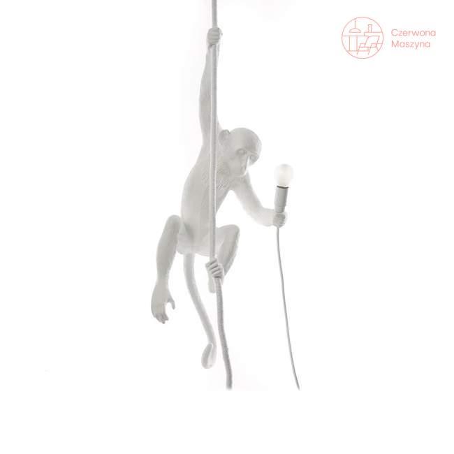 Lampa wisząca z liną Seletti Monkey Ceiling outdoor biała