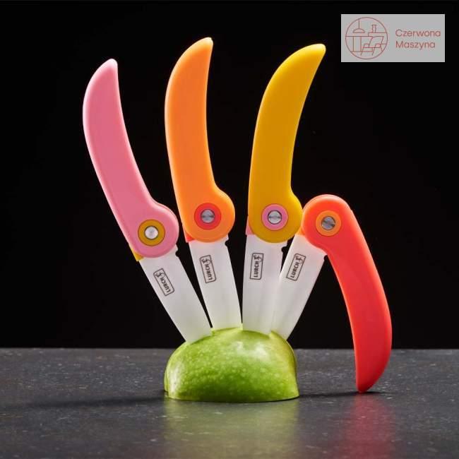 Składany nóż piknikowy Lurch 19 cm, koralowy