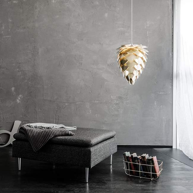 Abażur Umage Conia (dawniej Vita Copenhagen) Ø 40 cm, mosiądz