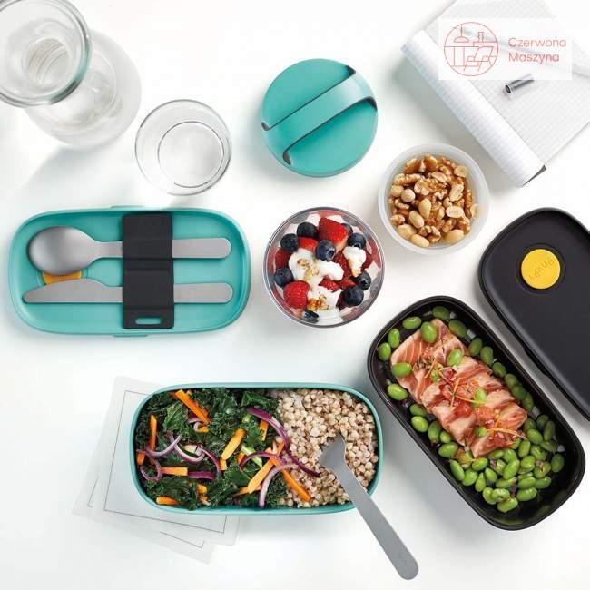 Lunchbox TO GO Lekue różowy