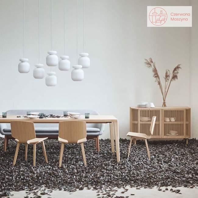 Komoda Bolia Cord, white pigmented oak