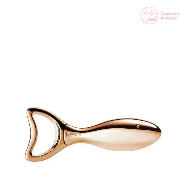 Otwieracz do butelek Bugatti Lino, różowe złoto 18 karatów