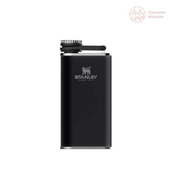 Piersiówka stalowa Stanley Classic 230 ml, czarna