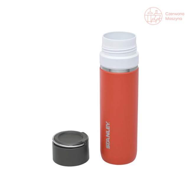 Termos z wkładem ceramicznym Stanley GO 0,7 l, pomarańczowy