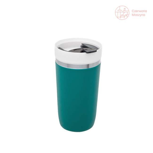 Kubek termiczny z wkładem ceramicznym Stanley GO 470 ml, turkusowy