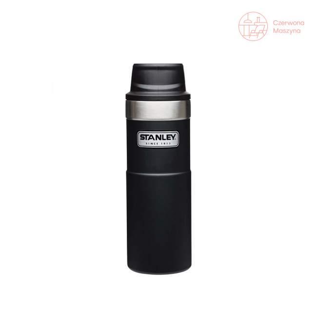 Kubek termiczny stalowy Stanley Classic 470 ml, czarny