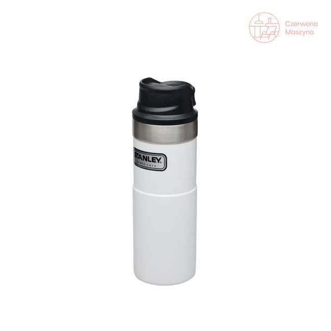 Kubek termiczny stalowy Stanley Classic 470 ml, biały