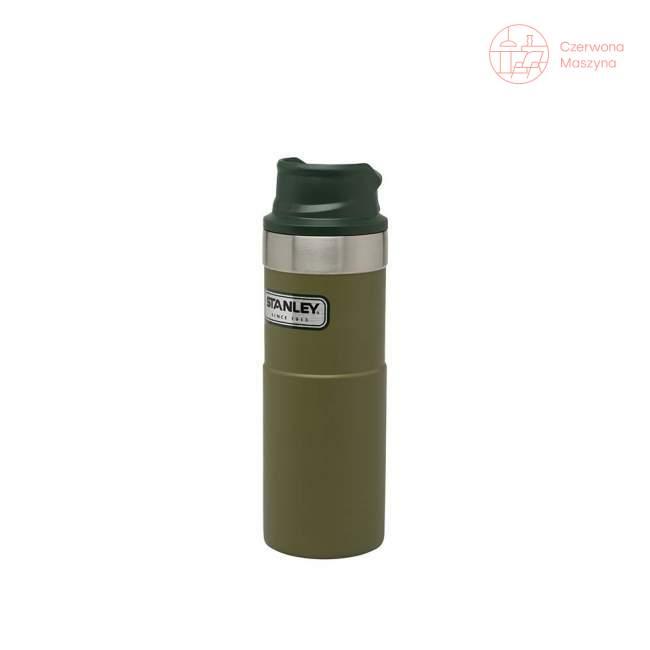 Kubek termiczny stalowy Stanley Classic 470 ml, oliwkowy
