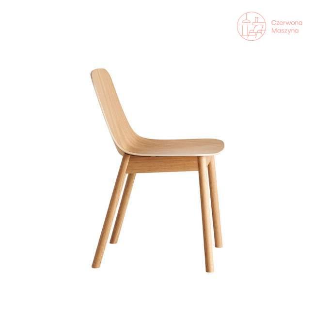 Krzesło Woud Mono, jasne drewno