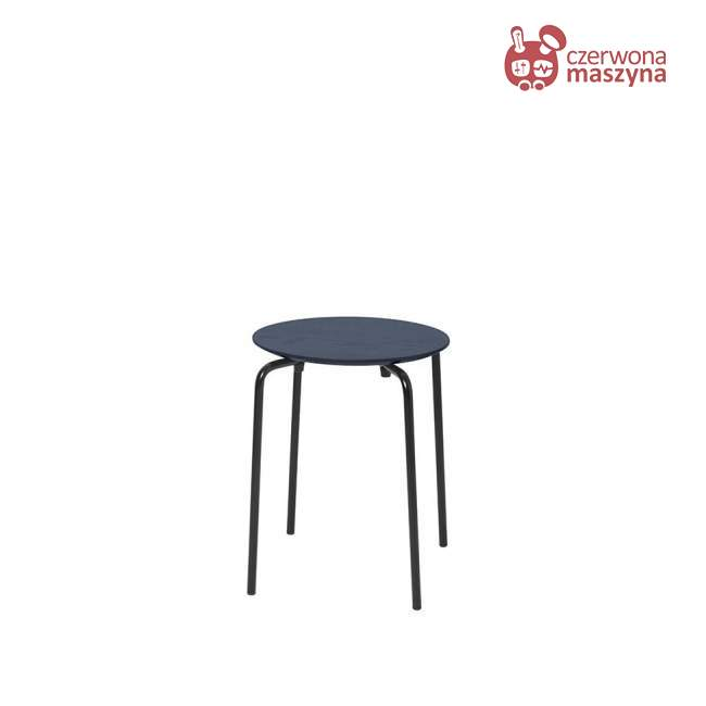 Taboret / stołek ferm Living Herman, ciemnoniebieski