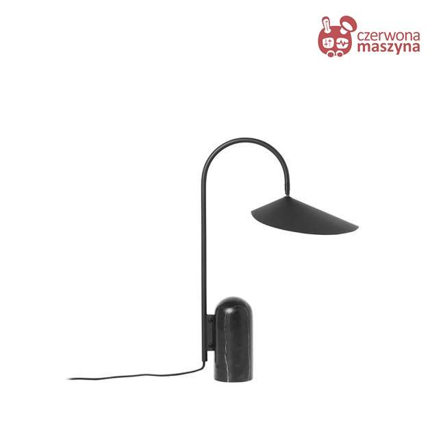 Lampa stołowa ferm LIVING Arum, czarna