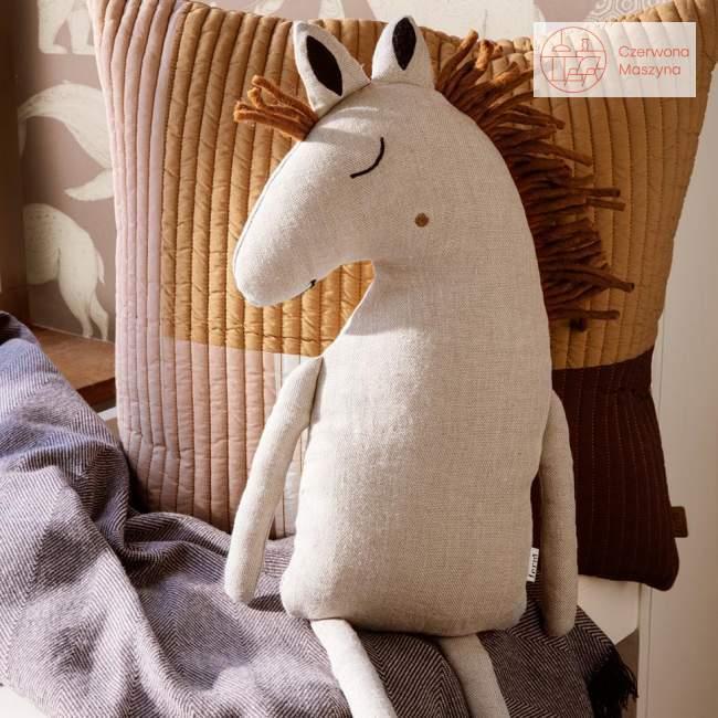 Poduszka koń ferm LIVING Safari Cushion, natural