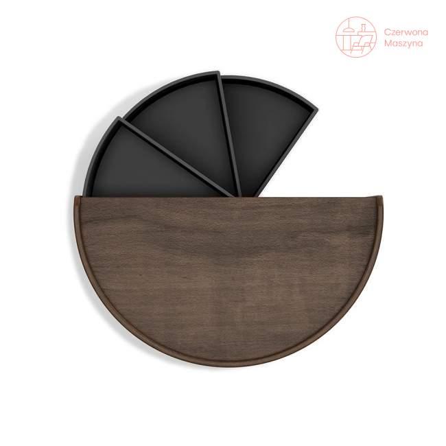 Pudełko do przechowywania Umbra Moona, black walnut