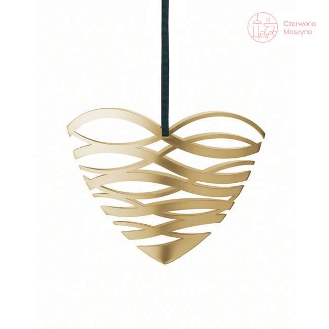 Zawieszka świąteczna Stelton Tangle serce 14 cm