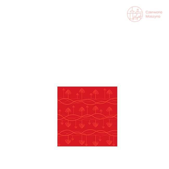 Obrus Stelton Tangle 140 x 270 cm, czerwony