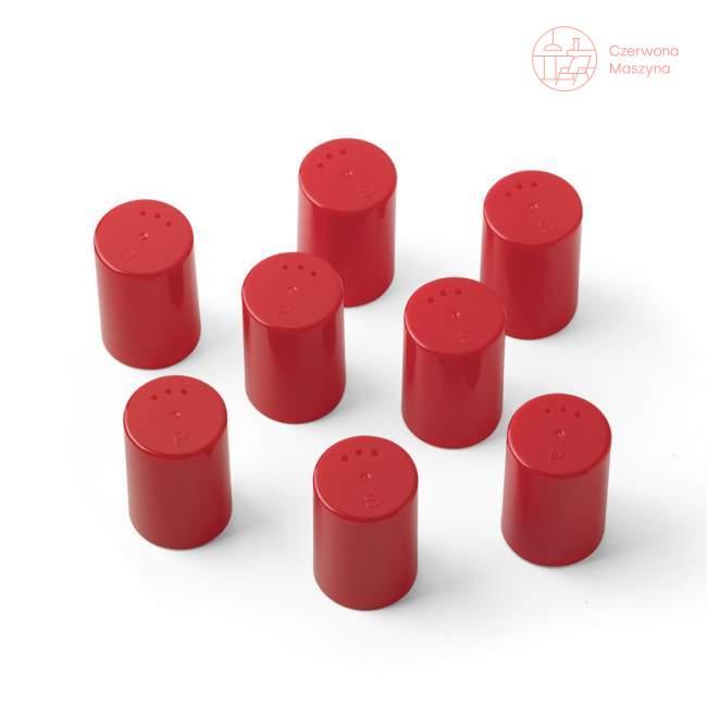 8 Pojemniczków do soli i pieprzu Authentics Eiko czerwone