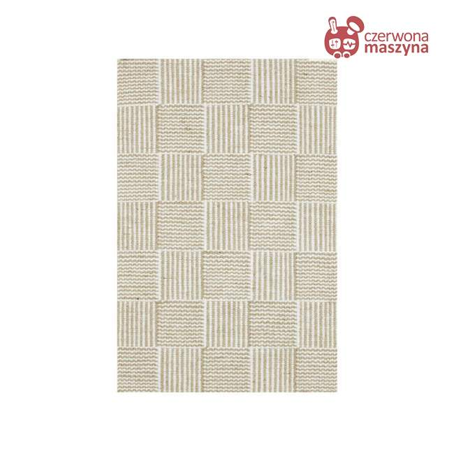 Chodnik Linie Design Chess White 90 x 160 cm