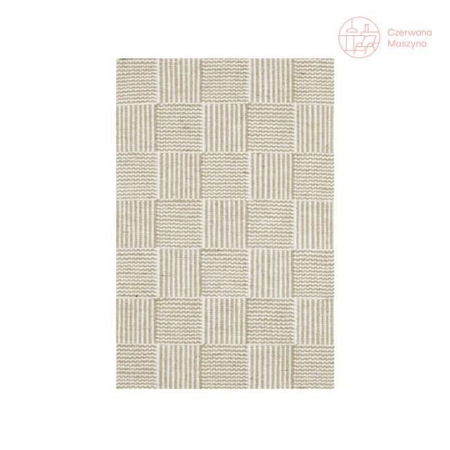 Dywan Linie Design Chess White 250 x 250 cm