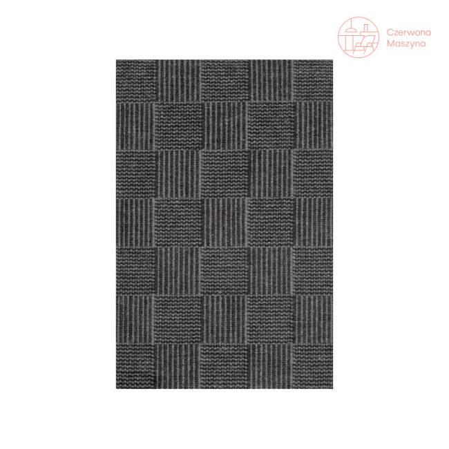 Chodnik Linie Design Chess Charcoal 90 x 160 cm