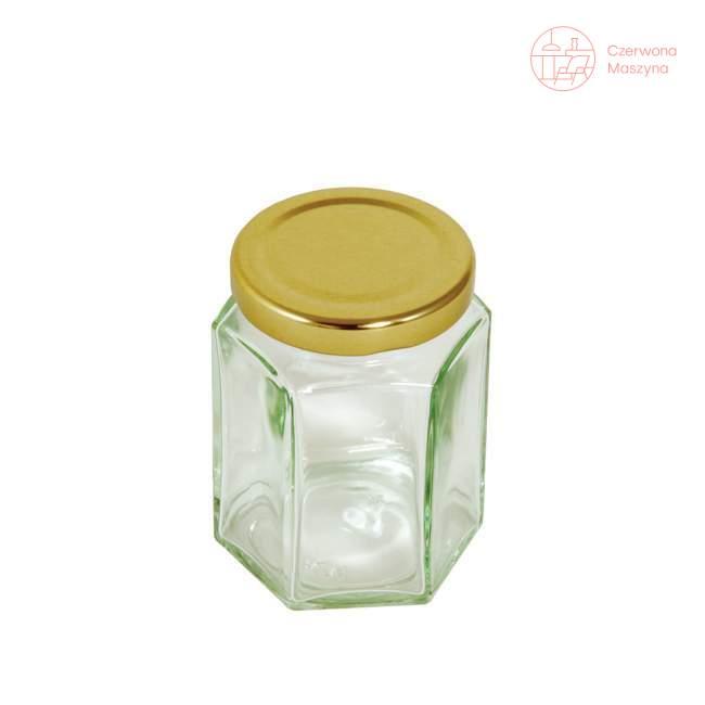 Słoik Tala 228 ml, ze złotą pokrywką
