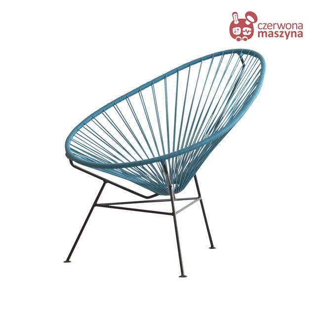 Fotel OK Design Acapulco, niebieski