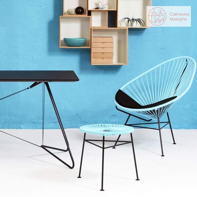 Fotel OK Design Acapulco, jasnoniebieski