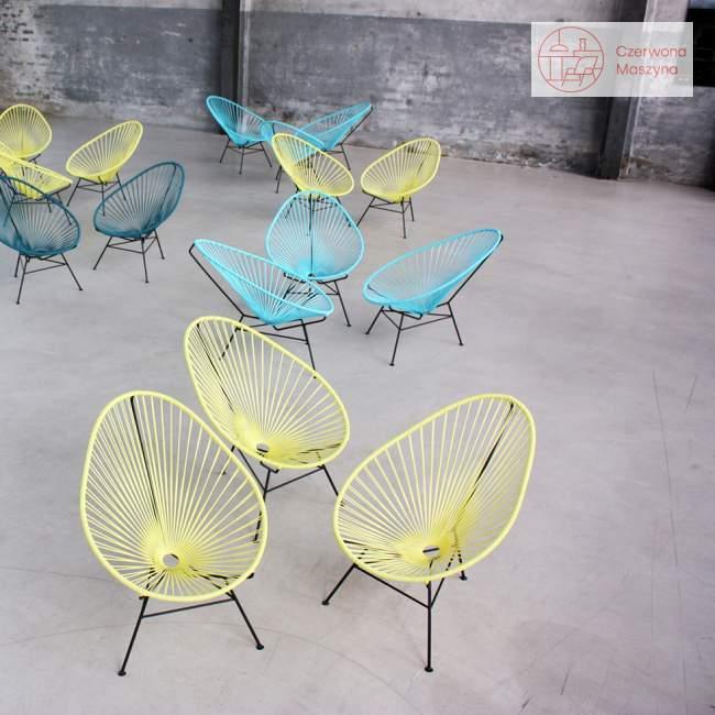 Fotel OK Design Acapulco, żółty