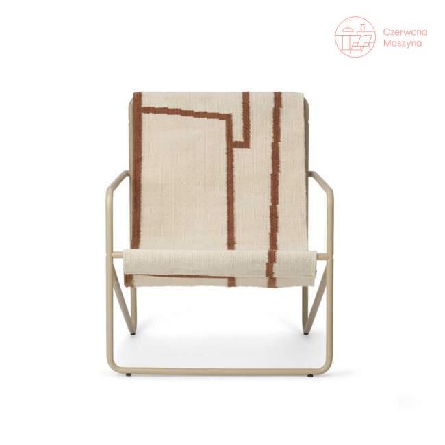 Krzesło dziecięce ferm LIVING Desert Chair Kids, Cashmere / Shape