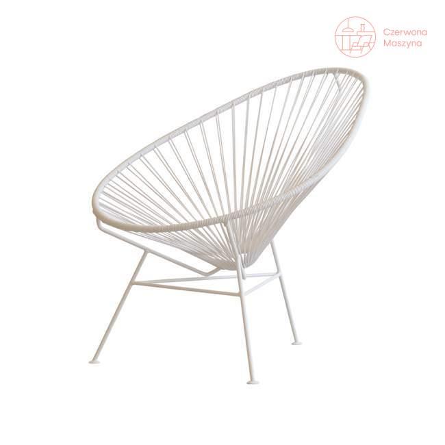 Fotel OK Design Acapulco, biały