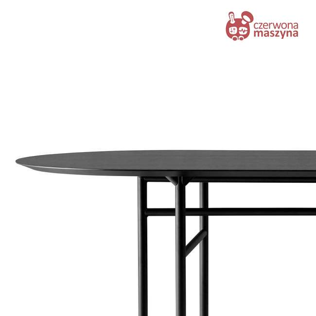 Stół Menu Snaregade 95 x 210 cm, czarny