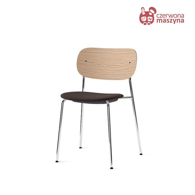 Krzesło Menu Co Chair Gabriel Gaja C2C, Chrome/Natural Oak/grafitowy
