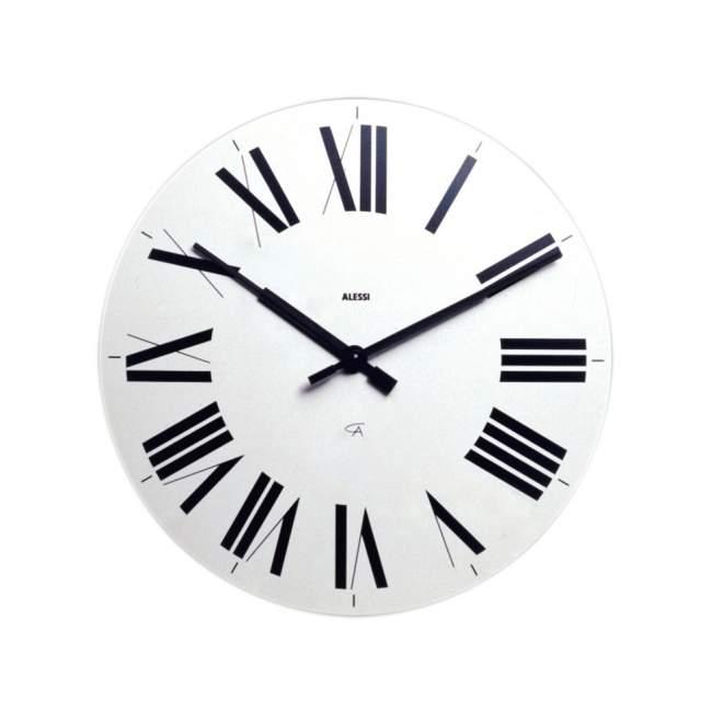 Zegar ścienny Alessi Firenze Ø 36 cm, biały